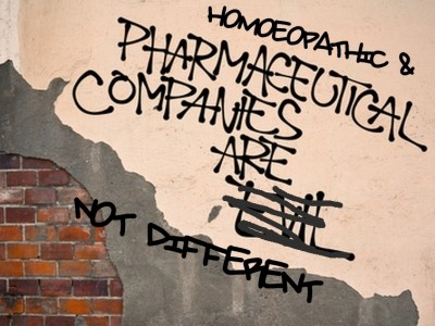 "Is mighty ""BigPharma"" suppressing Homeopathy…?"