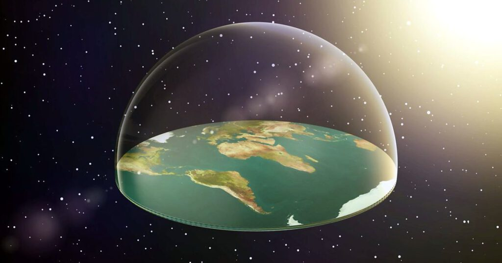 FAQ 15 – In the past, it was believed that the earth was a disk …