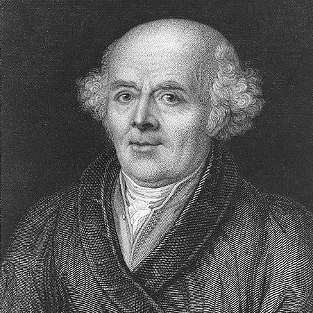 Picture of Samuel Hahnemann, born 1755 in Koethen, Saxonie, dies 1843 in Paris